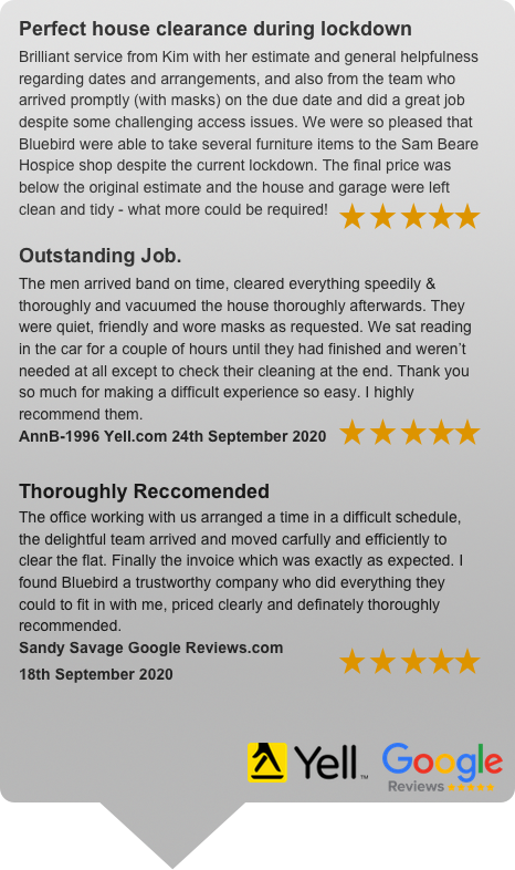 Surrrey House Clearances Reviews From Google Local & Yell